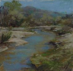 Wentworth Wash by Stephanie Birdsall Pastel ~ 12 x 12