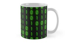 Binary Code Pattern by Patty Pattern