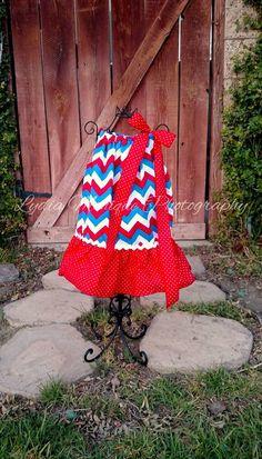 Baby girl dress girls dress 4th of July by GigglesandWigglesBtq