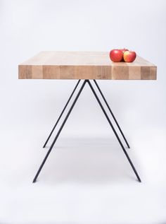 Wood & Steel Tables by 5mm.studio