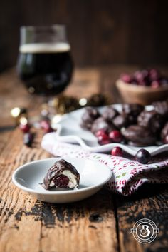 Stout Cranberry Mascarpone Chocoalte Truffles305