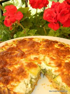 Zucchini Tart, Quiche, Food To Make, Rolls, Appetizers, Pizza, Cooking Recipes, Bread, Cheese