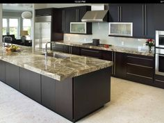 Kitchen Cabinets, Stained Wood, Full Overlay