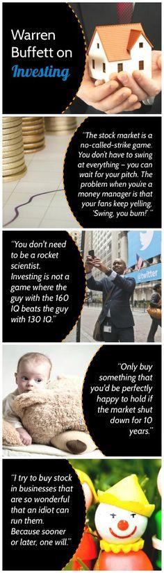 Warren Buffett Investing, Investing Tips, Investing Ideas