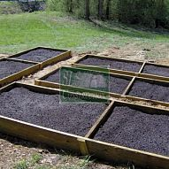 you can easily create a raised bed garden