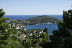 This view over Cap Ferrat in the Côte d'Azur is one of the most breathtaking in the South of France