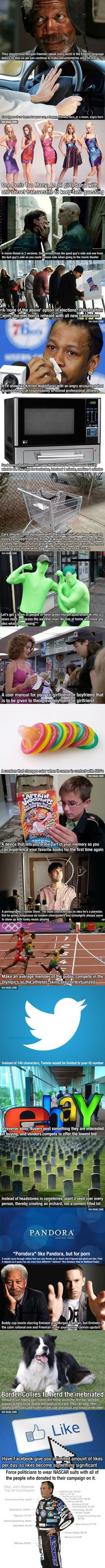 22 Crazy Ideas That Are Borderline Genius