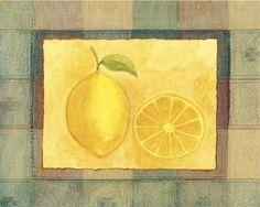Art Poster Print - Lemon - Artist: Stela Klein - Poster Size: 8 X 10 inches by ASuperShop, http://www.amazon.com/dp/B000WWPBAU/ref=cm_sw_r_pi_dp_l625pb0N7J6QA