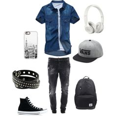 A fashion look from October 2016 featuring Converse sneakers, Traveler's Choice backpacks and Beats by Dr. Dre tech accessories. Browse and shop related looks.