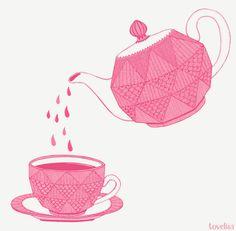 tea illustration by Tovelisa