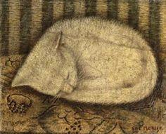 "Sal Meijer (1877-1965) ""White Cat"""