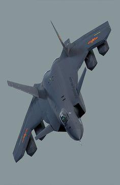 """N♡T. Chengdu J-20 """"Чёрный Орёл"""""""