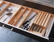Love the knife block inside the draw