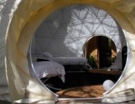 glamping-holiday. The Dome Garden, Mile end, Gloucestershire, Forest of Dean