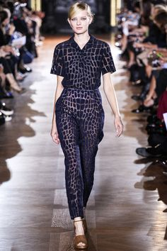 Stella McCartney jumpsuit Spring 2014. Shop Stella McCartney at MATCHESFASHION.COM #MATCHESFASHION