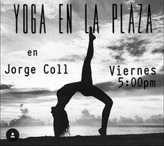 @Regrann from @marc_fig -  El viernes vente a la de Jorge Coll a las 5:00pm.  Yoga para todos solo trae tu mat te esperamos. Namaste #yogaparatodos #yogaenlaplaza #yogaenmargarita #hazyogavenezuela @netienefuturo_  @danapita #Regrann