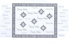 Danny Wise logo Banner for Press Office.