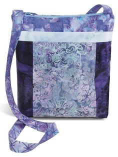 Cross-Body Bag Hyacinth Fabric Pack