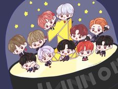 First Art, First Love, My Love, Produce 101 Season 2, Bts Chibi, Ha Sungwoon, Kpop Fanart, Ji Sung, Seong