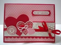 Peanuts and Peppers Papercrafting: Make It Monday - Stampin' Up P.S. I Love You Valentine's Day Card
