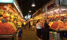 La Boqueria--wonderful market in Barcelona