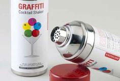 Graffiti Cocktail Shaker.