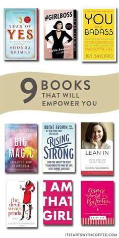 sharing 10 books to empower you that every single woman should read for both personal and business growth in life in their 20s and 30s Books To Read For Women, Best Books To Read, Good Books, Books To Read In Your 20s, Ya Books, Book Suggestions, Book Recommendations, Book Club Books, Book Lists