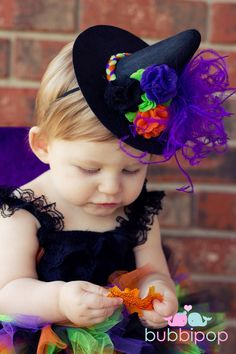 Boutique Sassy Lil Witch Witch Hat (HAT ONLY).