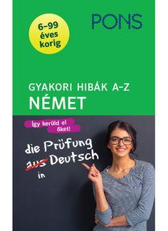 Melyik szót mikor használjuk? A kiadvány megismerteti Önt a némettanulás során felmerülő tipikus hibákkal. Számos példán keresztül szemlélteti, hogy mire kell különösen figyelni. A könyv végén található tesztekkel ellenőrizheti, hogy mindent megértett-e.  http://klett.hu/bolt/pons/gyakori-hibak-a-z-nemet/