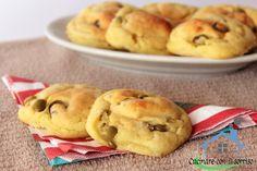schiacciatine di patate alle olive