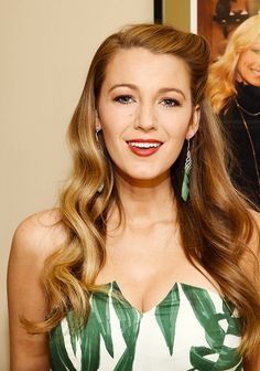 Blake Lively works 10 different outfits and hairstyles in one day. Just…