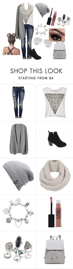 """Sleepy😴"" by howtofly ❤ liked on Polyvore featuring Mavi, Illustrated People, Shoes of Soul S.O.S., The North Face, Jigsaw, ChloBo, Maybelline and Sunny Rebel"