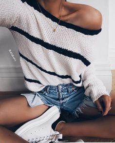 adidas, necklace, off shoulder, outfit, shoes