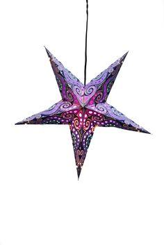Paper Star Lantern - Galaxy