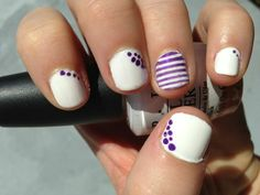 simple cool nail ideas Cool Nail Ideas for Short Nails