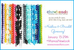 Chewbeads Giveaway! Plus, Enter to WIN the Grand Prize in the #MamasNewLook Giveaway Hop! - Viva Veltoro