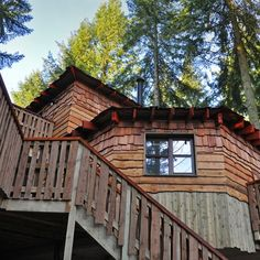 Exterior view of Longleat Treehouse, coming soon to Elveden Forest