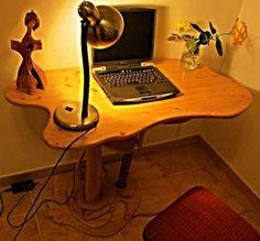 Corner Desk, Furniture, Home Decor, Creative, Homemade Home Decor, Corner Table, Home Furnishings, Interior Design, Home Interiors