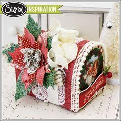 Sizzix Inspiration | Santa Mailbox by Melissa Phillips