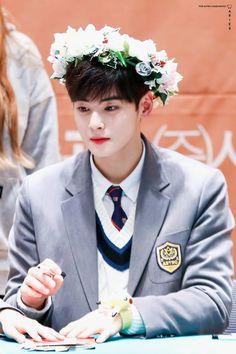 Eunwoo flower boy