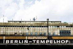 Berlin Tempelhof // There are tours you can book to visit the abandoned airport Tempelhof. Click on the picture to find out how.