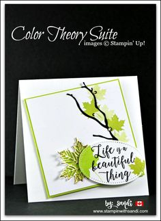 Colorful Seasons bundle, cards for friends, Stampin Up Card Ideas, 2017 - 2018 Annual Catalogue, Canadian Stampin Up Demonstrator, Sandi MacIver, Stampin with Sandi