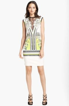 Roberto Cavalli Lace Inset Dress - Fab for so many occasions! Could be worth the investment.....Amiright!?