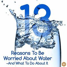 13 Reasons To Be Worried About Water—And What To Do About It.  http://www.honeycolony.com/article/13-reasons-why-you-should-be-worried-about-water-and-what-to-do-about-it/  We have consulted a handful of experts to learn what's lurking in our drinking water, and how to create water that's actually beneficial. These reasons will shock you! Take a peek at this must read and share original!  #water #honeycolony #FDA #health #waterfacts
