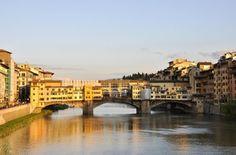 Ponte Vecchio in Florence, vlakbij Orlando in Chianti