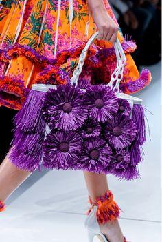 Glamorous Chic Life, by? Orange And Purple, Shades Of Purple, Orange Color, Magenta, Deep Purple, Glamorous Chic Life, Floral Fashion, Bloom Fashion, Modest Fashion