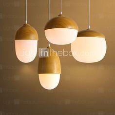 Moderni / Traditionaalinen/klassinen / Rustiikki / Lantern / Vintage / Retro LED Puu/bambu Riipus valotLiving Room / Makuuhuone / - EUR €38.80