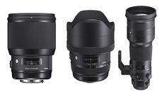 Sigma Announces the 85mm f/1.4 Art, 12-24mm f/4 Art, and 500mm f/4 DG OS Sports…