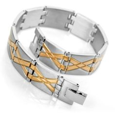 Justeel Jewelry Mens Silver & Gold Tungsten Bracelet Cuff Bangle Justeel Jewelry. $7.99. Excellent Luster and Unimpeachable Rust and Corruption Resistance. Size HxWxL: x0.6x8.3inch; (x14x210mm). 100% Nickel free. Shipping takes 2-3 weeks from China (USPS Tracking)