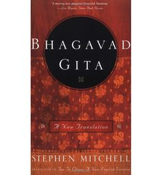 #stephenmitchell #storeforthework The Bhagavad Gita is universally acknowledged as one of the world's literary and spiritual masterpieces. It is the core text of the Hindu tradition and has been treasured by American writers from Emerson and Thoreau to T. S. Eliot, who called it the greatest philosophical poem after the Divine Comedy.